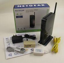 NETGEAR N150 MODEM ROUTER WIRELESS ADSL 2+ COME NUOVO CON SCATOLA E ACCESSORI