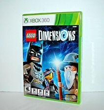 LEGO Dimensions (Microsoft Xbox 360) - REPLACEMENT GAME ONLY - FREE SHIPPING