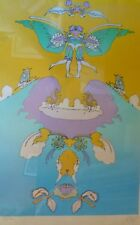 PETER MAX Facing Waves (Gemini) HAND SIGNED NUMBERED 93/300 SERIGRAPH 1973