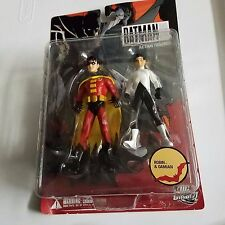 DC Direct, Batman and Son, Robin and Damian Action Figures, Complete