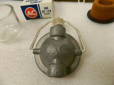 NOS Delco Glass Bowl Element & High Dome Large AC Fuel Filter 1953-58 Corvette