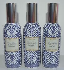 3 BATH & BODY WORKS SPARKLING ICICLES CONCENTRATED ROOM SPRAY PERFUME WHITE BARN