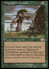 Magnigoth Treefolk LP X4 Planeshift MTG Magic Cards Green Rare
