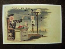 """Lustige Postkarte """"Fälscher-Schicksal"""""""