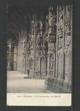 1911 TOURNAI BELGIUM CATHEDRALE LE PORCHE POSTCARD