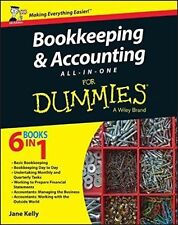 Bookkeeping & Accounting All-in-One For Dummies by Jane E. Kelly 9781119026532