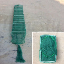 330cm Fish Crayfish Lobster Prawn Trap Net Saltwater Freshwater Fishing Gear