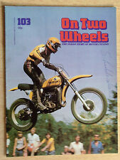ON TWO WHEELS No.103-WORLD CHAMPIONSHIPS,WORLD LAND SPEED RECORD,ROLF TIBB