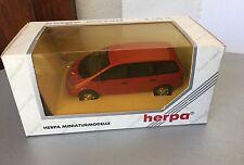 VINTAGE# HERPA  1/43 VW VOLKSWAGEN SHARAN RED ROSSA#NIB RARE