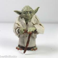 Star Wars Master Yoda Jedi Knight Attack Statue PVC Action Figure Toys  Loose