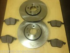 VW Golf Mk4 1.9 GT TDi 130,150 (98-03) TWO FRONT BRAKE DISCS AND A SET OF PADS