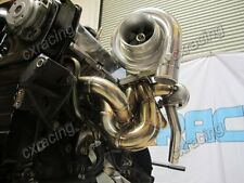 CXRacing Manifold Turbo Downpipe Upgrade kit For 240SX S13 S14 RB20 RB25 RB25DET