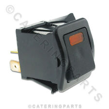 GARLAND FRYMASTER 1872401 MAIN POWER ROCKER SWITCH ON/OFF AMBER LIGHTED 1872400