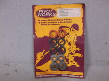 """Pivot Works"" Rear Shock Absorber Rebuild Kit for 1987-1988 Suzuki RM125 & RM250"