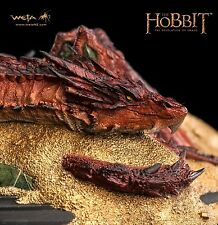 "Weta Workshop ""Smaug: King Under the Mountain Statue"" Hobbit Lord of the Rings"