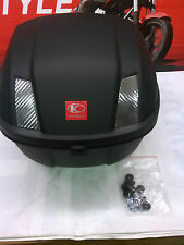 KYMCO TOP CASE from LIKE 200 - MATTE BLACK - USED