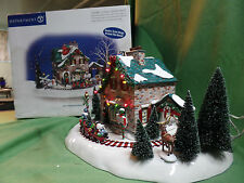 Dept 56 Snow Village Christmas Lane Santa's Wonderland House