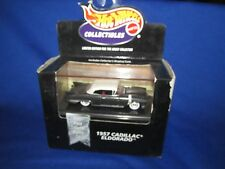 1957 CADILLAC ELDORADO convertible Hot Wheels 100% Black Box  limited ed cool