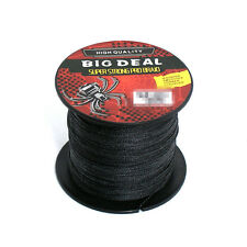 Black 100M Super Strong Spectra Braid Salt Water Sea Fishing Line Amazing Come
