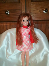 "Doll 17"" Ideal Grow hair Crissy Original clothes and shoes"