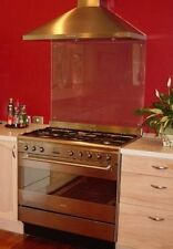 6MM CLEAR TOUGHENED PILKINGTON FLOAT 'BRITISH' GLASS SPLASHBACK MADE TO MEASURE