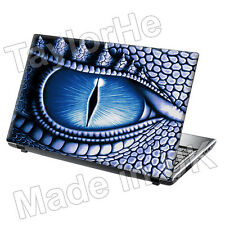 "17"" Laptop Skin Sticker Decal Blue Dragon Eye Cool 20"