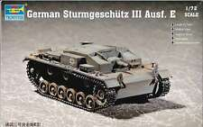 1/72 German Sturmgeschütz III Ausf. E Trumpeter Model kit 7258