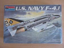Vintage Monogram U.S. Navy F-4J 1:72 Scale Plastic Model Kit