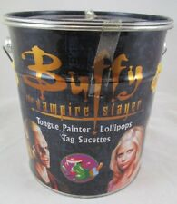 Buffy The Vampire Slayer Chupa Chups Candy Lollipops Tongue Painter Full Tin Can