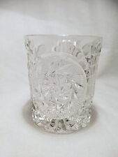 *NEW*Set of 4 vintage FOSTORIA glass STOWE CLEAR double old fashion rock GLASSES