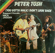 """7"""" 1979 REGGAE IN VG+ ! PETER TOSH : Don´t Look Back"""