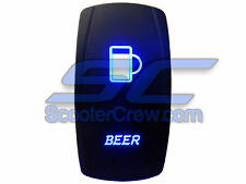 UTV Rocker Switch Blue Backlit Beer Yamaha Rhino Viking YXZ 1000 Wolverine PART
