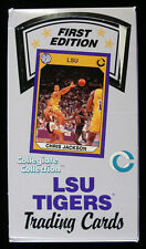 (5) Box Lot ~ LSU Tigers College Trading Cards Unopened Sealed ~ (36ct)