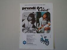 advertising Pubblicità 1970 PIAGGIO CIAO 50