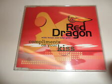 Cd   Red Dragon With  Brian & Tony Gold  ‎– Compliments On Your Kiss
