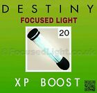 20 Destiny FOCUSED LIGHT XP Boost **GUARANTEED TO WORK** Taken King Redbull code