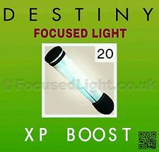 DESTINY 20 FOCUSED LIGHT XP Boost DLC  RISE OF IRON   * INSTANT DISPATCH *