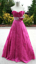 NWT PAPARAZZI by MORI LEE 8710 ROSE $422 Prom Evening Gown 0