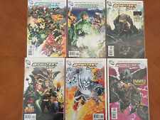 Brightest Day Comic Books Set of #'s 0 - 5 (2010, DC) Modern Age NM+
