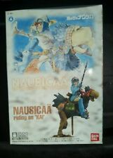 Nausucaa of the Valley of the Wind Riding on Kai Bandai model in box 2004