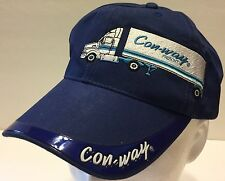 Conway Freight Trucking Blue Hat Less Than Truckload LTL Shipping Semi Carrier