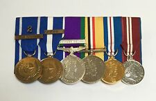 IFOR, KFOR, GSM Ireland, Iraq, Golden & Diamond Jubilee Full Size Mounted Medals