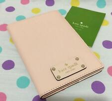 NWT KATE SPADE Imogene Ballet Slippers Pink Leather Passport Holder/Cover Case