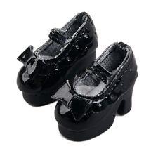 [wamami] Neo Blythe Doll Takara MMK Lati Puki Dollfie Loli Shoes Outfit Black