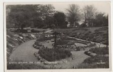 Sunken Gardens, The Park, Peterborough RP Postcard, B342