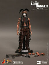 "Hot Toys Tonto The Lone Ranger 1/6 Scale 12"" Figure Johnny Depp Disney New"