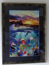 Framed Christian Lassen Disney, Under the Sea, 113/350, Sold out Limited Edition