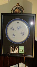 VAN HALEN AUTOGRAPHED / SIGNED Drumhead w/ CD Photo Framed! 1998