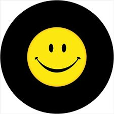 Smiley Face #2 Spare Tire Cover Jeep RV Camper VW Trailer etc(all sizes avail)