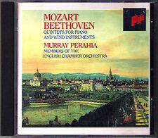 Murray PERAHIA: BEETHOVEN MOZART Piano Wind Quintet CD Neil Black Thea King